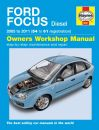 Haynes Workshop Manual Ford Focus Diesel (05-11) 54 to 61